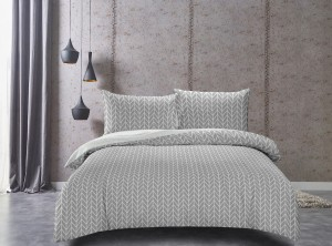 DecoKing Pościel Ducato HERRINGBONE 160x200+70x80*2