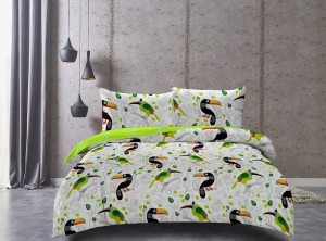DecoKing Pościel Ducato TOUCAN 160x200+70x80*2